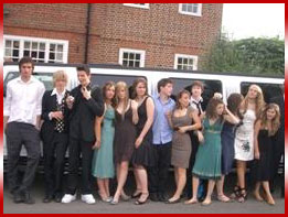 Limo Hire Nottingham - Prom